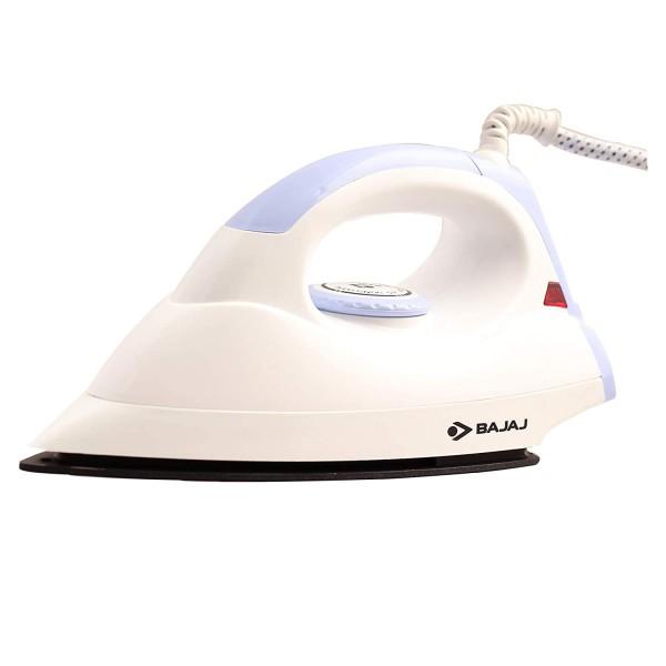 Bajaj DX4 NEO Dry Iron (White/Lavender) 1000 Watt toorshop toor shop
