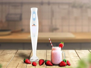 BAJAJ HAND BLENDER HB15, 300-WATT Super silent DC copper motor toor shop