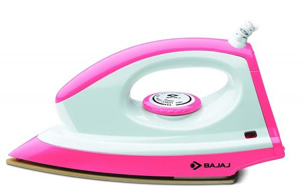 Bajaj Majesty Canvas Pink 1000 Watts Dry Iron toor shop