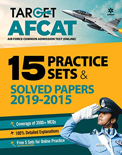 AFCAT 15 Practice Sets and Solved Papers 2021 toorshop toor shop