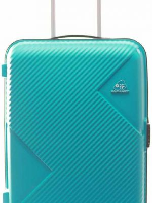 Kamiliant by American Tourister Check-in Luggage (36cm, 68 cm, 76cm) - Hard Body Expandable Check-in Luggage ZAKK (Teal) toorshop toor shop