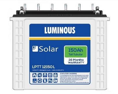 Luminous Solar Battery LPTT12150L, LPTT12150H 150Ah 12 Volt toorshop toor shop