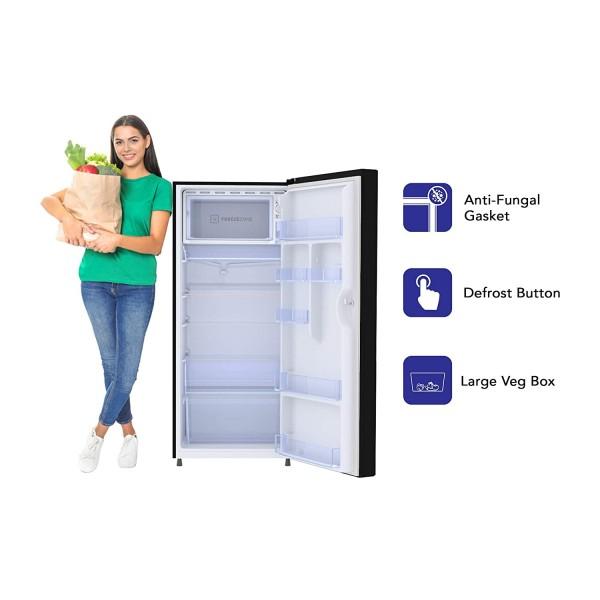 Haier 195 L 4 Star Direct-Cool Single Door Refrigerator (HRD-1954CAG-E, Artistic Glass) toorshop toor shop chirag electronics