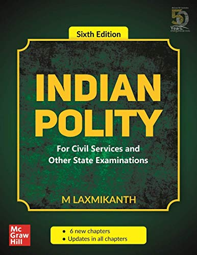 Indian Polity - For Civil Services and Other State Examinations | 6th Edition Paperback UPSC Toorshop toor shop