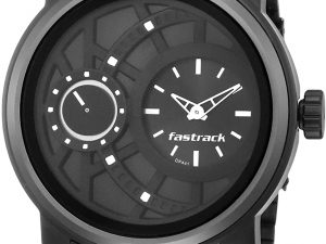 Fastrack Analog Black Dial Men's Watch NM3147KM01/NN3147KM01 mens watch toorshop Toor Shop Fastest delivery service